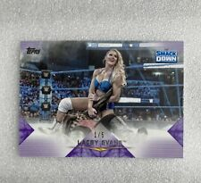 2020 Topps WWE Undisputed Lacey Evans Purple Parallel #'d 1/5 SSP