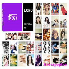30pics set FX LOMOCARDS Kpop goods New