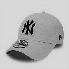 New York Yankees Cap MLB Baseball New Era 9forty Kappe Grau Metal Buckle Jersey