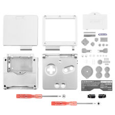 Solid White Housing Shell Buttons Replacement for Nintendo Game Boy Advance SP