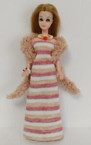 DAWN DOLL CLOTHES Dress Boa and Jewelry Set Handmade Fashion NO DOLL dolls4emma