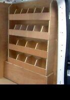 Ford Transit Van Racking Shelving Ply Lining Tool Storage