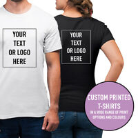 Mens Womens Custom Printed T-Shirt Personalised Stag Do Hen Do Workwear Tee Top