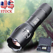 8000LM Shadowhawk X800 Tactical Flashlight CREE XML T6 LED Zoom Torch Light Set