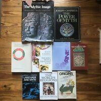 LOT of 9 Mythology Psychology Neumann Eliade Jung Occult Esoteric Consciousness