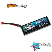 Peak Racing 4000mAh 45C 11.1v 3S RC LiPo Hard Case Battery Deans - PEK00552