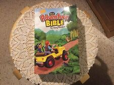 Pre Owned NI RV Adventure Bible for Early Readers.  There is a name in the front