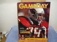 Phoenix Cardinals Gameday Johnson Smith Magazine Lot (2)