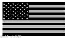 "Subdued American Flag sticker die-cut decal 4"" USA US GLOSS VINYL"