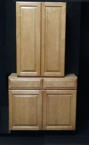 100  Kraftmaid Kitchen and Bathroom Cabinets Bases and Walls. Mix and match