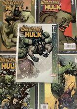 ULTIMATE WOLVERINE VS HULK #1-6 Comic Book LOT FULL SERIES DAMON LINDELOF YU ART