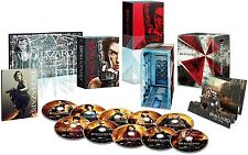 New Resident Evil Ultimate Complete Box First Limited Edition 10 Blu-ray Japan