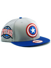 New Era Captain America 9fifty Snapback Hat Adjustable Cap First Avenger Marvel
