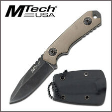 MTECH USA NECK KNIFE KNIFE WITH KYDEX SHEATH - 4.75 INCH OVERALL G10 HANDLE