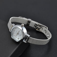 Fashion Women Watch Bracelet Stainless Steel Crystal Dial Quartz Wrist Watches