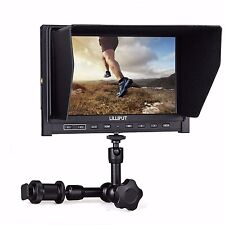 "Lilliput 339 7"" IPS 1280×800 HD 1080p Camera Field Monitor + 7 inch Magic Arm"