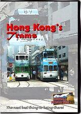 HONG KONG'S TRAMS HIGHBALL PRODUCTIONS NEW DVD-R VIDEO