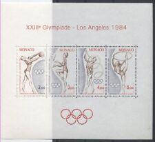 MONACO bloc 27 - JO DE LOS ANGELES de 1984 ** NEUF LUXE