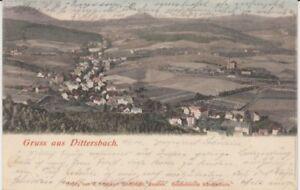Ansichtskarte Schlesien  Gruß aus Dittersbach bei Waldenburg 1901