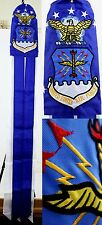 "60"" Embroidered USAF U.S. Air Force 100% Polyester Wind Sock W/Grommets"