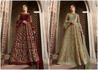Ethnic Anarkali Salwar Kameez Indian Pakistani Designer Suit Bollywood Dress FM