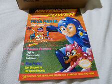 NINTENDO NES POWER MAGAZINE MEGAMAN III 3 VOL 20 VINTAGE 1991 MINT CASE FRESH >