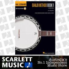 Hal Leonard Banjo Method Bk - Book 1 w/ Online Audio Access *BRAND NEW*