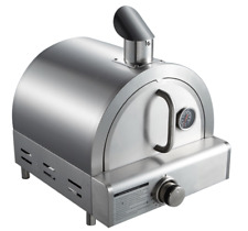Mont-Alpi Gas Fired, Marine Grade (304) Stainless Steel Table Top Pizza Oven