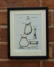USA Patent Drawing STIRRUP riding tack horse MOUNTED PRINT 1900 Xmas Gift