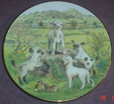 Royal Worcester 150th Anniversary Of The RSPCA KING OF THE CASTLE Lambs Plate