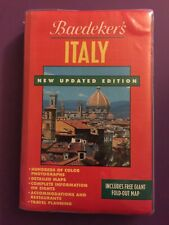 Baedeker's: Italy : A Complete Guide NEW UPDATED EDITION FREE GIANT FOLD OUT MAP