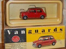 Vanguards VA25000 Red/Black Mini  Cooper Boxed. 1:43