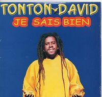 CD CARTONNE 2T  TONTON DAVID  ( JE SAIS BIEN     )    TRES BON ETAT   DE 2002
