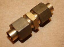"""Solder Olive 5/16"""" x 5/16"""" Copper Pipe Union"""