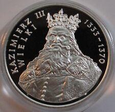 500 ZL ZLOTYCH POLAND POLEN 1987 Polish Rulers Series - King Kazimierz III RARE!