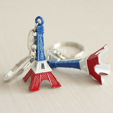 Paris Retro Mini Eiffel Tower Model Cute Keychain Keyring Keyfob Love Gift #11