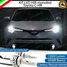 KIT LED HIR TOYOTA C-HR CHR C HR 6500K CANBUS 12000 LUMEN MONO LED MONOLED XENO