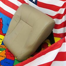 1998-02 Dodge Ram 2500  Laramie Driver  Bottom Leather Seat cover (TAN )