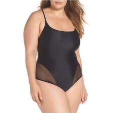 CHROMAT Delta X Black Mesh Swimsuit Women's Size XXXL