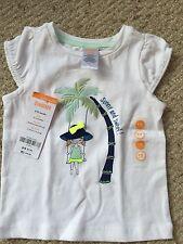 GYMBOREE 6 12 M Blue Safari NEW NWT Shirt Spring Summer Palm Tree Baby