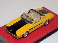 1/43 BBR Ferrari 330 GTS Michelotti GTS from 1967  Yellow/ Black BBR111    GP132