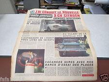 L AUTO JOURNAL N° 271 4 mai 1961 la nouvelle 3CV CITROEN  AMI 6 fiat 1300 *