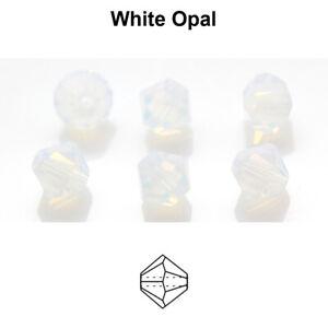 Genuine PRECIOSA Czech Crystal Rondell Bicone Beads * Choose Color & Size