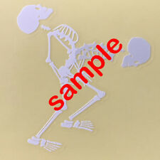 Jrock ONE OK ROCK Head Banging Skeleton Clear Sticker