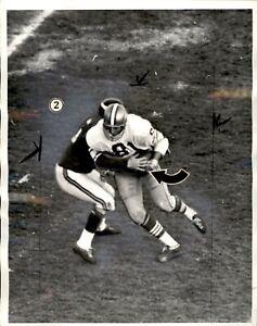 Vintage 1965 San Francisco 49ers Dave Parks 8x10 4) Photo Sequence Karl Kassulke