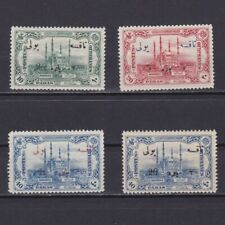 TURKEY 1913, Sc# J59-J62, CV $49, Postage Due, MH