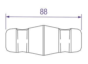 Konusverbinder Prolyte Truss 600 Hybrid Coupler (30/40-SERIES) 10 Stück