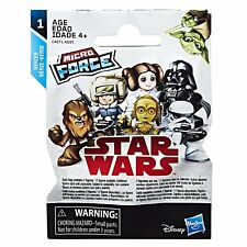 STAR Wars Micro Force ~ Micro Figura in buste Blind Bag ~ Inc 2 Figure per Busta