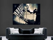 FREE RUNNING JUMP LARGE  GIANT POSTER PRINT