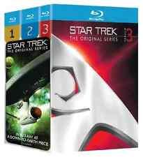 Star Trek: The Original Series - Seasons 1-3 (Blu-ray Disc, 2009, 20-Disc Set)